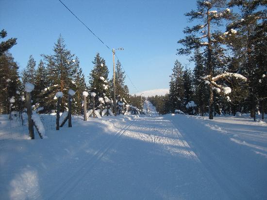 Kakslauttanen Arctic Resort: die Langlaufloipen