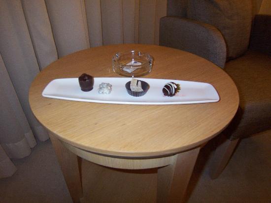 Radisson Blu Resort & Spa, Cesme: Chocolate Assortment Treat