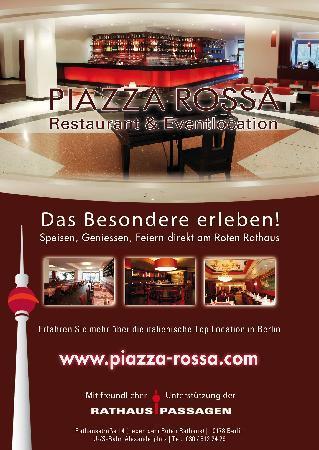 Trattoria Piazza Rossa Berlin Mitte Bezirk Menu Preise Restaurant Bewertungen Tripadvisor
