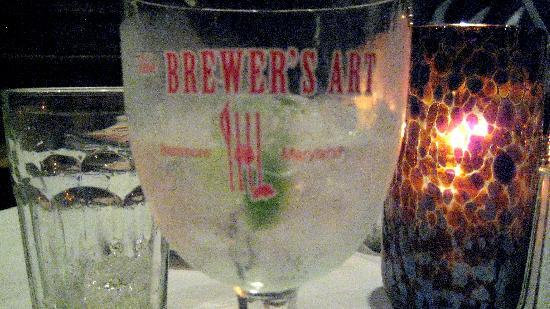 Brewer's Art: This club soda could easily be replaced with a vast selection of beers available