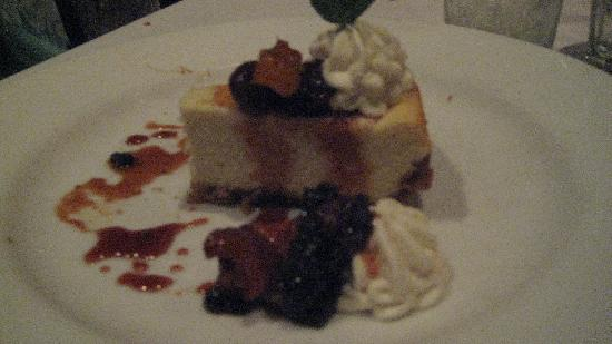 Brewer's Art : Desserts like this wonderful cheesecake worked just fine