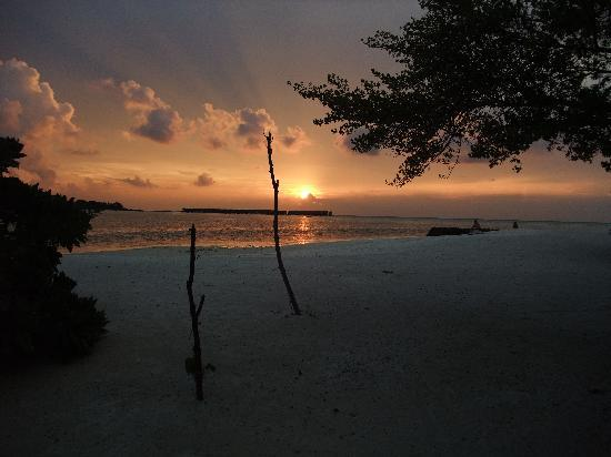 Gasfinolhu Island Resort: superb sunsets