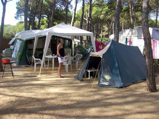 Camping Sandaya Cypsela Resort: site