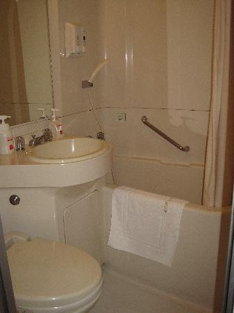 Shibuya Tokyu REI Hotel: Bathroom: small, cramped but service-able