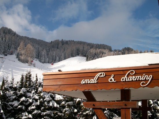 Hotel Laurin Small&Charming: Ciampinoi View