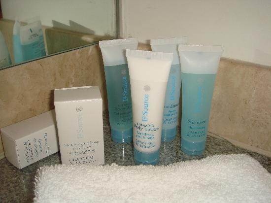 Hilton Adelaide: Crabtree and Evelyn-refilled everyday
