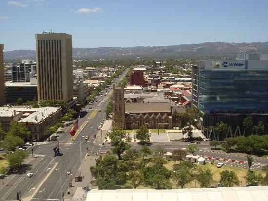 Hilton Adelaide: View from the room