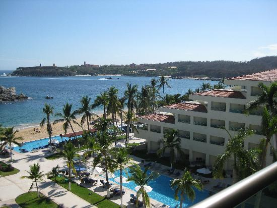Dreams Huatulco Resort & Spa: The view from the room