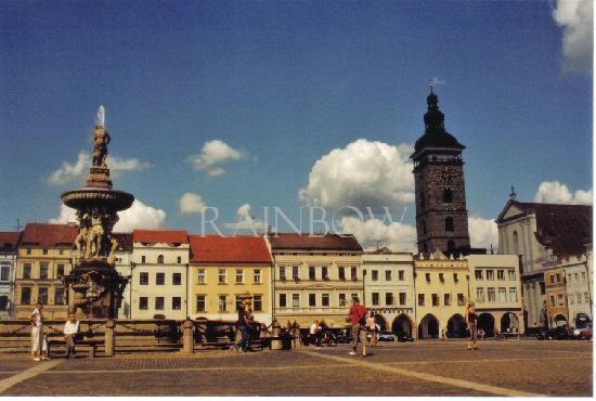 Ceske Budejovice, Tsjekkia: market place