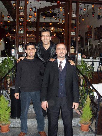 Antique Turquoise Restaurant : Le staff très accueillant