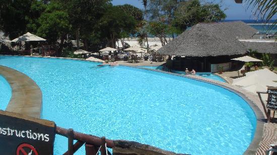 Baobab Beach Resort & Spa: tiered pool at Maridadi complex