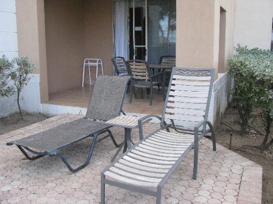 Divi Village Golf and Beach Resort: Private patio