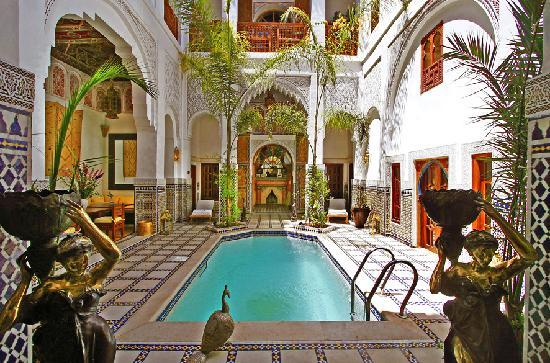 patio piscine photo de riad spa esprit du maroc marrakech tripadvisor. Black Bedroom Furniture Sets. Home Design Ideas