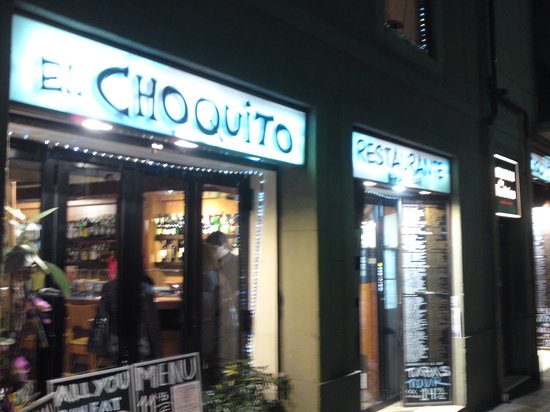 El Choquito : only masochists should go inside it
