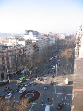 Hotel El Avenida Palace: view