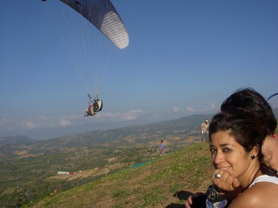 San Gil, Colombia: Voladero las vueltas