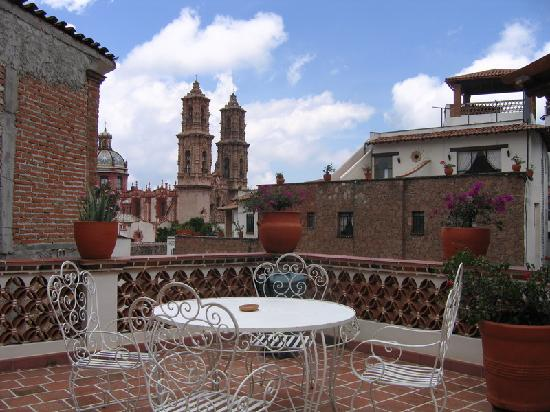 Hotel Agua Escondida: View on the terrace.