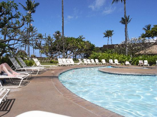 Kaanapali Beach Hotel: view from my lounge chair
