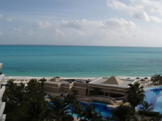 Hotel Riu Caribe: View from our room