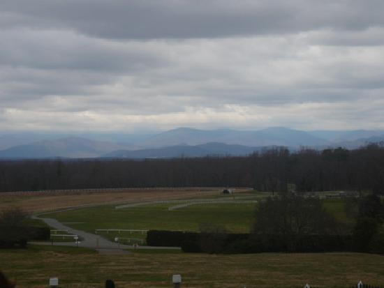 James Madison's Montpelier: View of the Blue Ridge Mountains from the front of the house