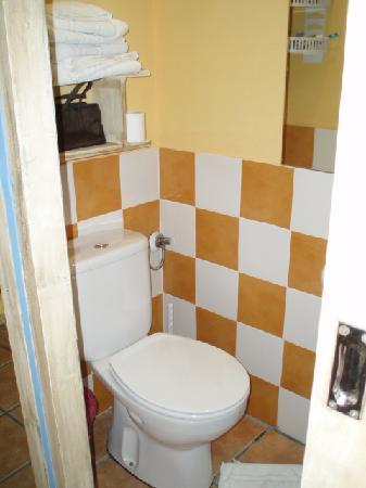 Hotel La Marina: Ebusitana - toilet (spotless)