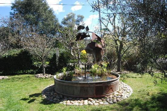 Willi's Wine Bar: fountain