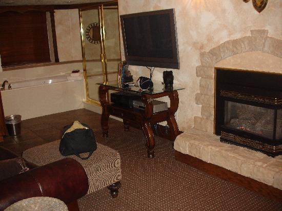 Castle Creek Inn: pool table room