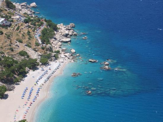 Hotel Romantica Apartments: Nice beach