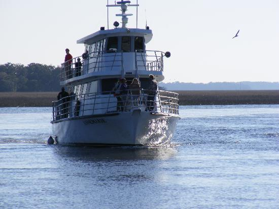 Sapelo Island, GA: The ANNMARIE ferry