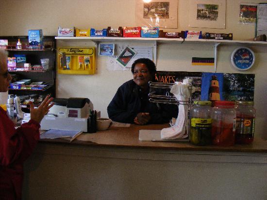 Sapelo Island, GA: Inside the only store in Hog Hammock