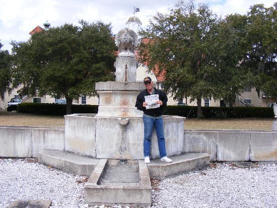 Sapelo Island, GA: Turkey Fountain