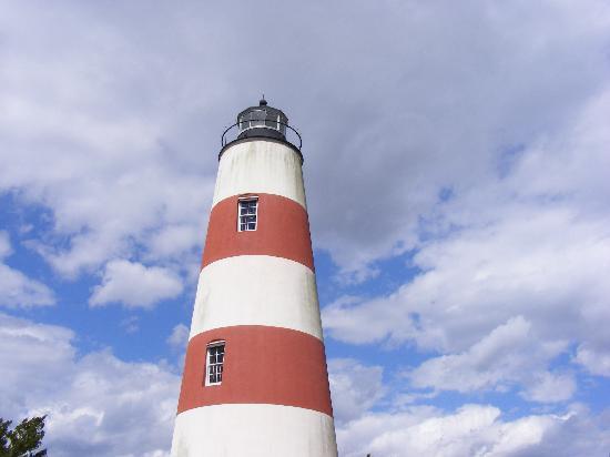 Lighthouse on Sapelo Island