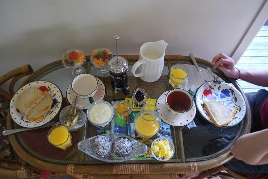 Appledore Lodge: Breakfast
