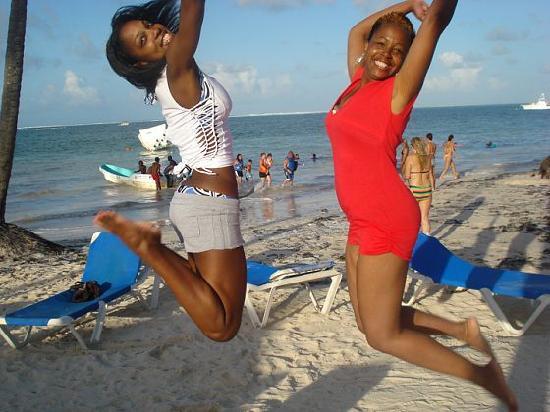 Dreams Palm Beach Punta Cana: Loving the beach