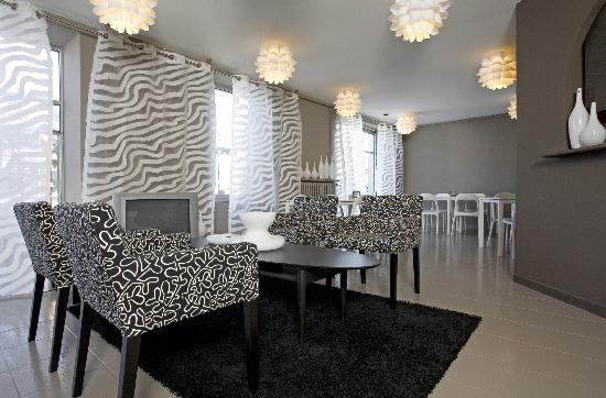 Hôtel L'Octroi: salon
