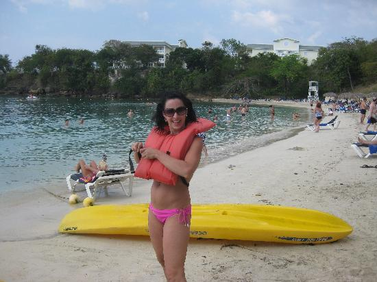 Grand Palladium Jamaica Resort & Spa: gonna go kayaking!