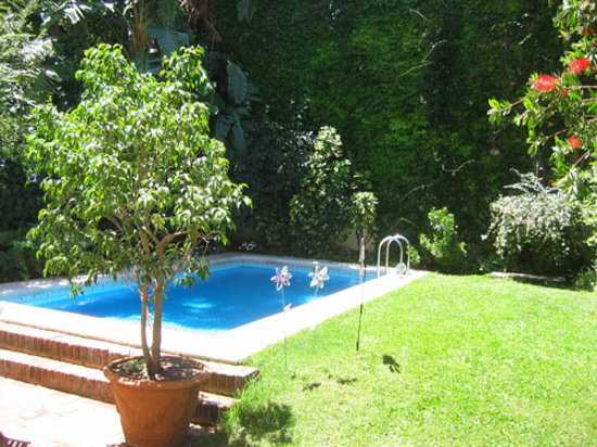 San Isidro, Argentina: Our garden and pool