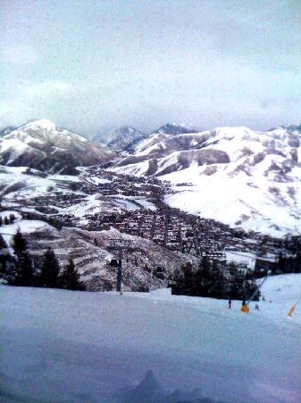 Sun Valley Resort: View from inside the Roundhouse