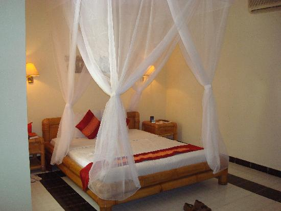 Aneka Lovina Villas & Spa : comfy bed