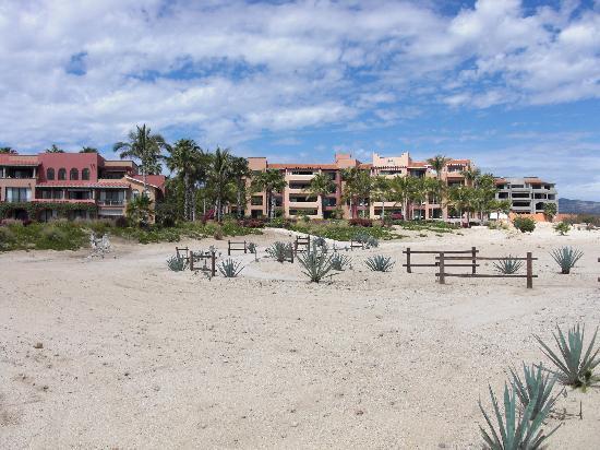 Casa del Mar Golf Resort & Spa: View from beach looking at 2103