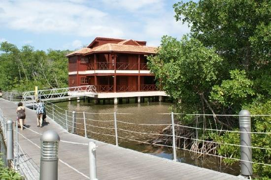 IBEROSTAR Mojito: the bridge to the beach and the lagoon rooms