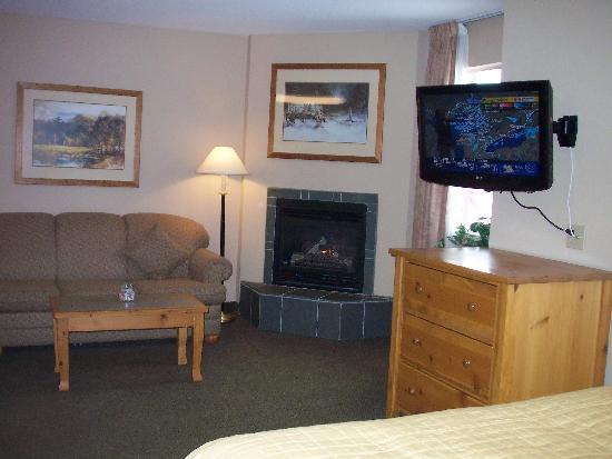 Trickle Creek Lodge: Our room