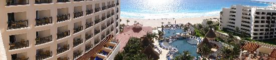 GR Solaris Cancun: View from our room