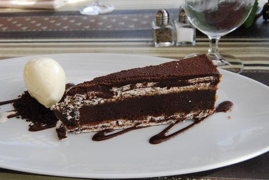 Auberge du Soleil Restaurant: chocolatge dessert