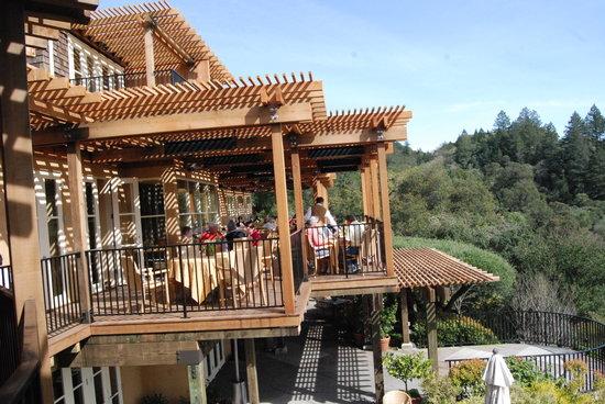 Auberge du Soleil Restaurant: auberge du soleil