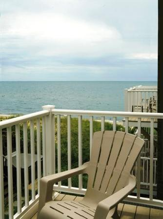 Corsair and Cross Rip Oceanfront: Value View Balcony View