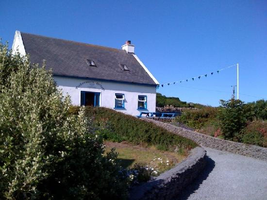 Fisherman's Cottage -- next to South Aran House and is where meals are served.