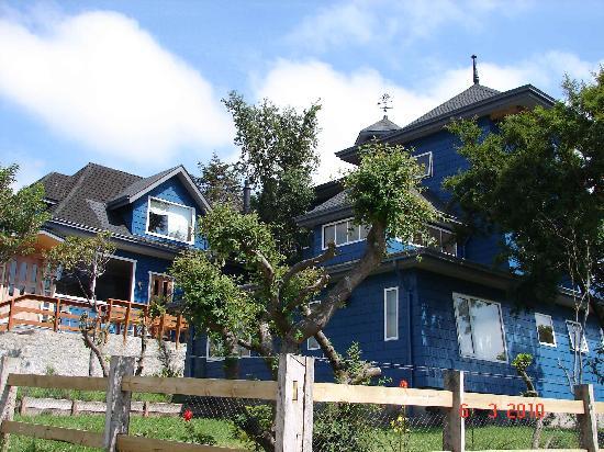 Casa Kalfu: from outside