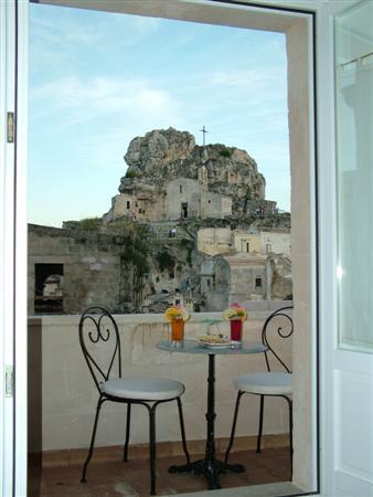 Caveoso Hotel: terrazzo privato con vista panoramica