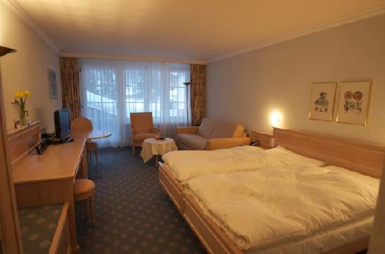 Hotel Schweizerhof Gourmet & Spa: the room
